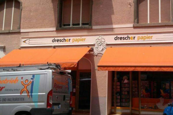 Malerbetrieb Reiterer Hafling - Referenz drescher papier